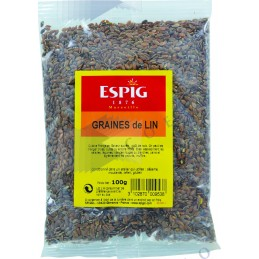 GRAINE DE LIN - Sachet 100g -