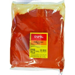 PIMENT FORT MOULU - Poche 1kg -