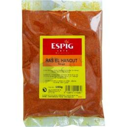 RAS EL HANOUT ROUGE - Sachet 100g -