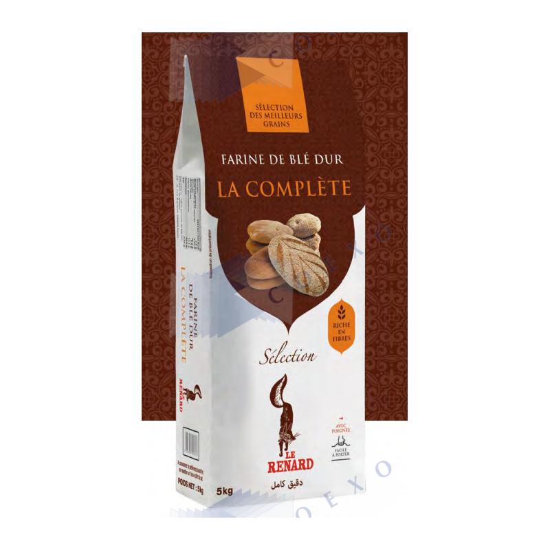 FARINE COMPLETE - Sac 5kg - LE RENARD