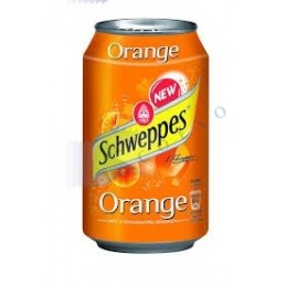 Canette SCHWEPPES ORANGE -...