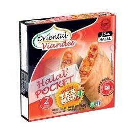 HALAL POCKET TEX MEX - 2 x...