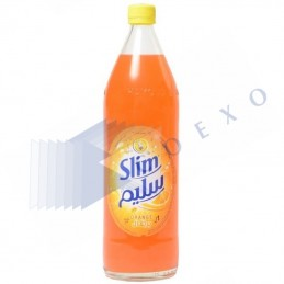 SLIM ORANGE verre - Unité 1L