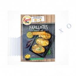 PAPILLOTES MOUTARDE -...