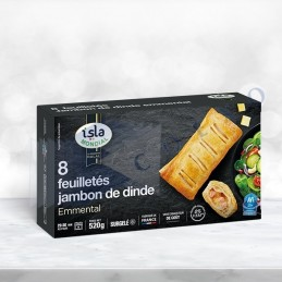 FEUILLETES JAMBON FROMAGE -...