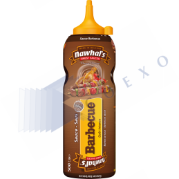 SAUCE BARBECUE - Unité 500ml NAWHAL'S