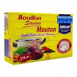 BOUILLON DE MOUTON - Boite de 24 Cubes - IDEAL