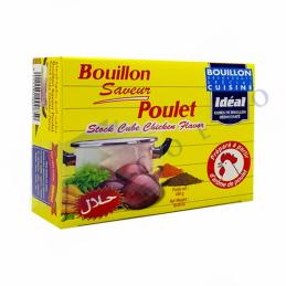 BOUILLON DE POULET- Boite de 24 Cubes - IDEAL