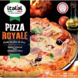 Pizza Royale - Unité 400g - ITALAL