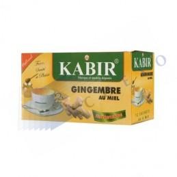 THE KABIR AU GINGEMBRE - Boite 12 sachets -