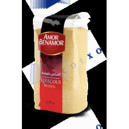COUSCOUS MOYEN - Unité 1kg - AMOR BENAMOR
