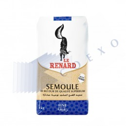 Semoule fine - sac 1 kg - Le Renard