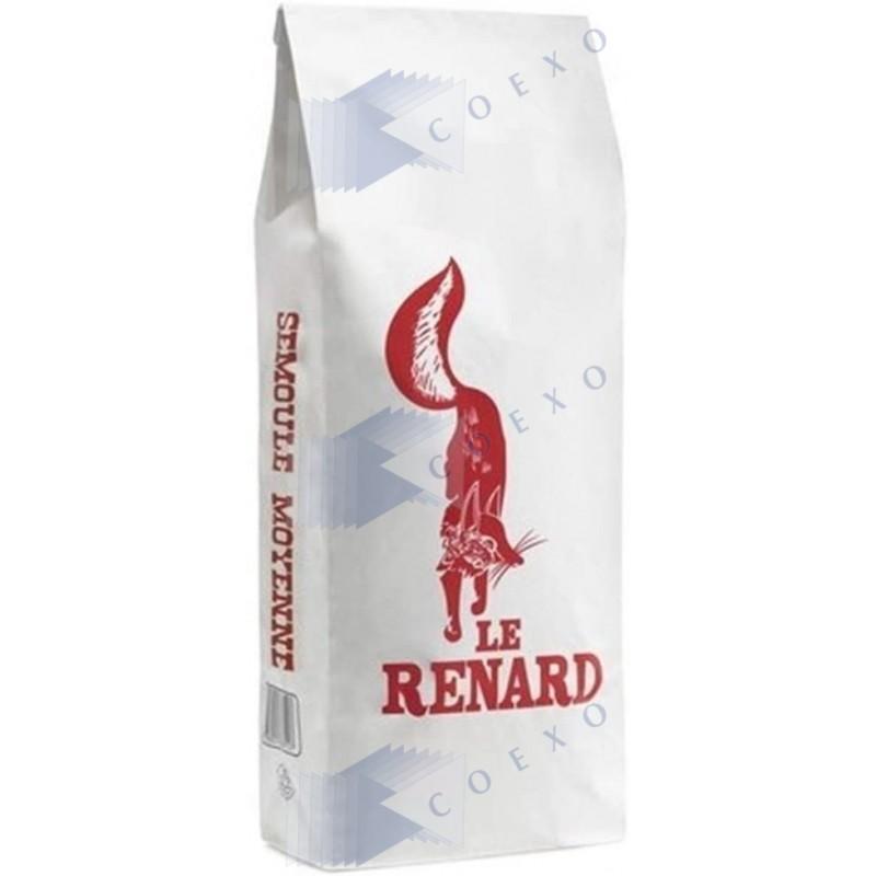 Semoule moyenne - sac 5 kg - Le Renard